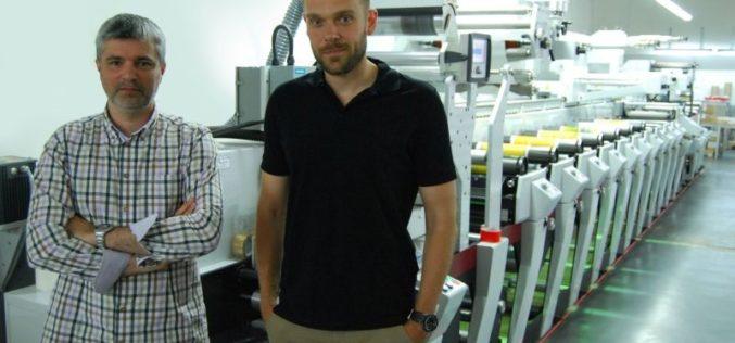 Drukarnia etykietowa Reganta z Łodzi po raz trzeci zainwestowała w maszynę fleksograficzną Mark Andy Performance Series
