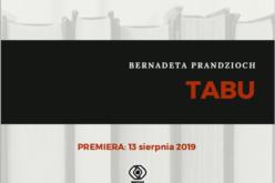 TABU, nowa powieść Bernadety Prandzioch