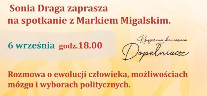 Spotkanie z Markiem Migalskim w chorzowskim Dopełniaczu