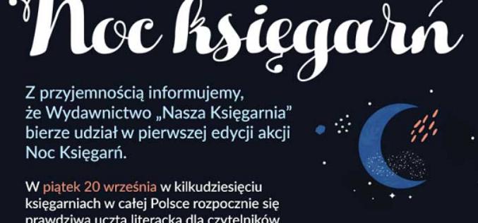 """Noc Księgarń z Wydawnictwem """"Nasza Księgarnia"""""""