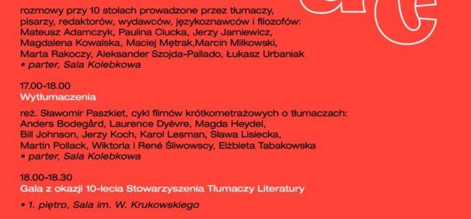 11. Międzynarodowy Dzień Tłumacza w CSW Zamek Ujazdowski