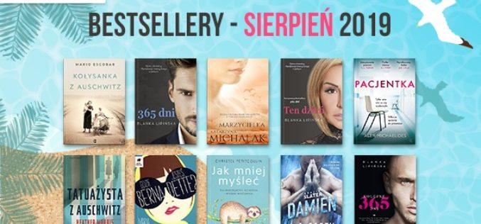 Bestsellery sierpnia 2019 w TaniaKsiazka.pl