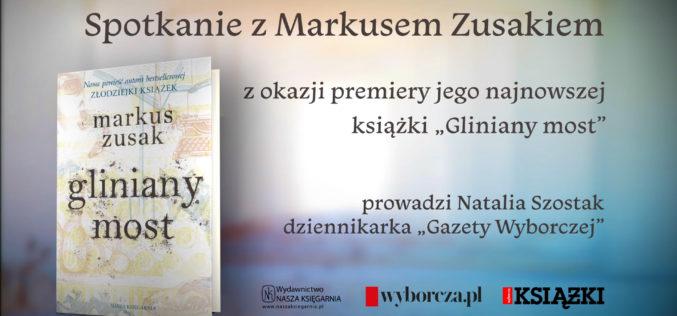 Markus Zusak w Warszawie