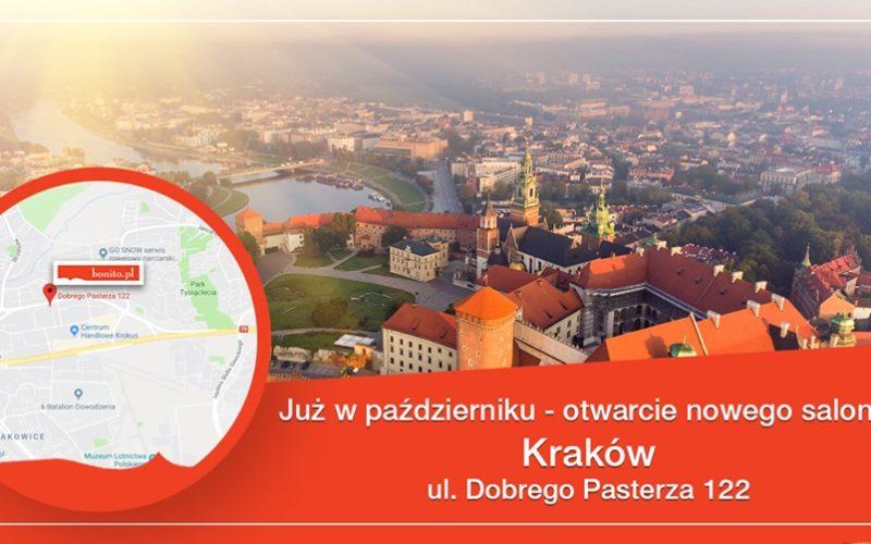 Księgarnia Bonito.pl otworzy wkrótce w Krakowie nowy salon sprzedaży połączony z punktem odbioru