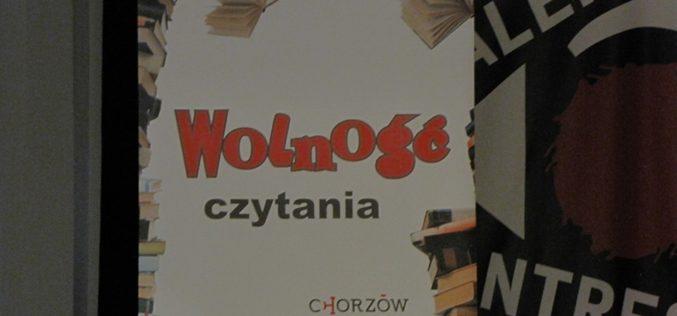 Literackie święto w Chorzowie – Wolność Czytania 2019