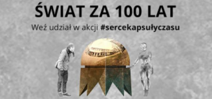 """""""Serce Kapsuły Czasu"""" konkurs literacko-plastyczny"""