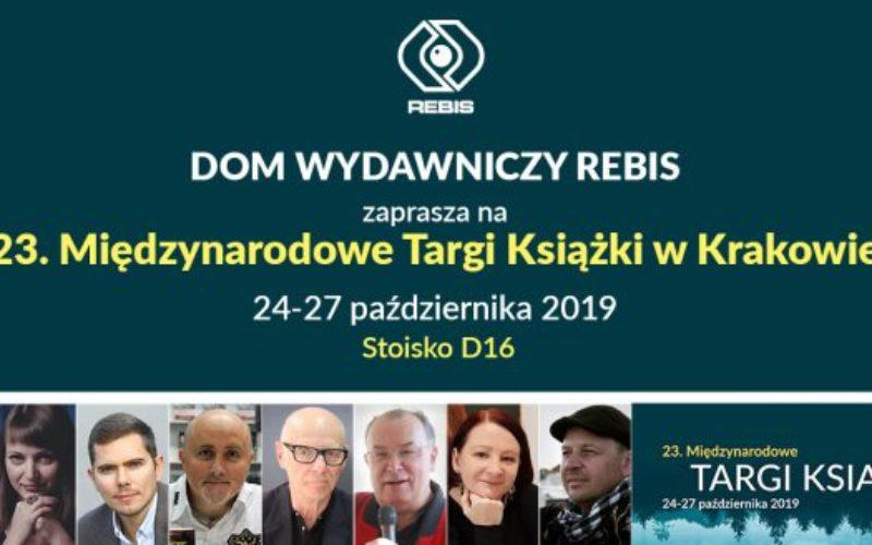 Dom Wydawniczy REBIS zaprasza na Targi Książki w Krakowie