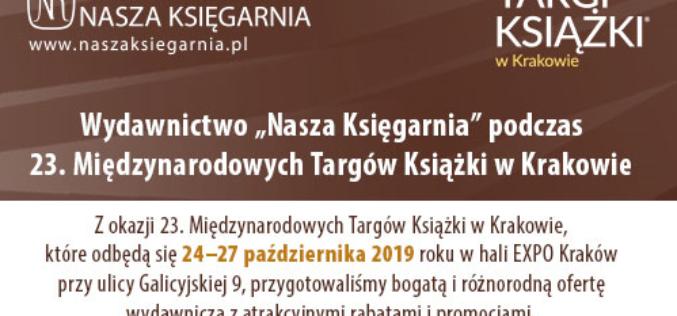 Wydawnictwo Nasza Księgarnia podczas Targów Książki w Krakowie