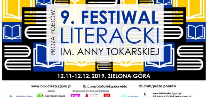 """9. Festiwal Literacki im. Anny Tokarskiej """"Proza Poetów"""""""