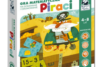 Piraci – gra matematyczna na dodawanie i odejmowanie