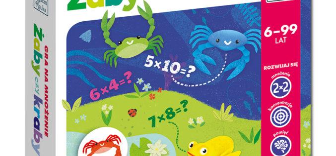Żaby czy kraby – gra na mnożenie