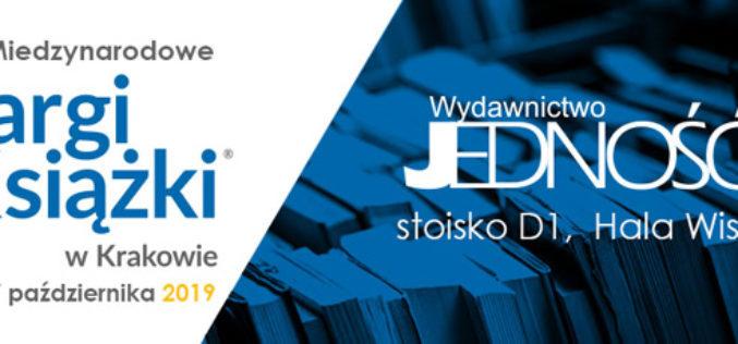 JEDNOŚĆ zaprasza na Targi Książki w Krakowie –  D1/C69 Hala Wisła