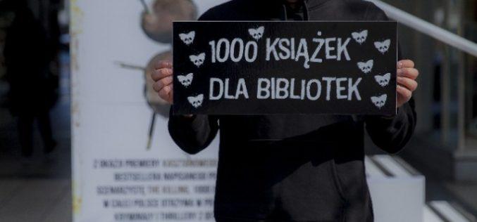 1000 książek dla bibliotek. Wspieramy konkurencję, aby promować czytelnictwo