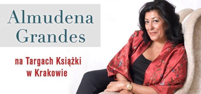 Almudena Grandes na Targach Książki w Krakowie