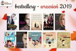 Bestsellery września 2019 w TaniaKsiazka.pl