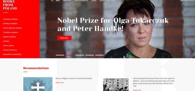 """Nowy serwis Instytutu Książki – """"Books from Poland"""""""