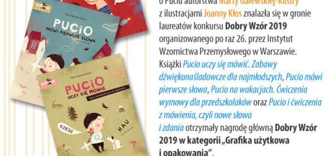 """Dobry Wzór 2019 dla książek Wydawnictwa """"Nasza Księgarnia"""""""