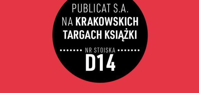 Grupa Publicat na Międzynarodowych Targach Książki w Krakowie