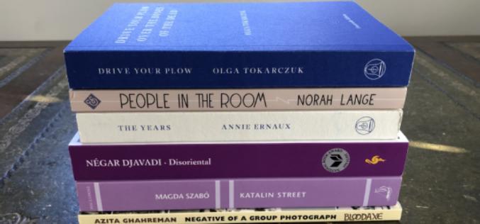 """Olga Tokarczuk """"Prowadź swój pług przez kości umarłych"""" w ścisłym finale Warwick Prize for Women in Translation"""