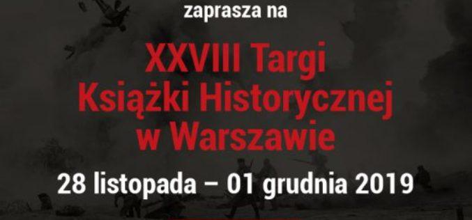 Dom Wydawniczy REBIS zaprasza na Targi Książki Historycznej – 28.11 – 01.12.2019