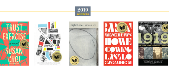 National Book Awards 2019! Znamy laureatów