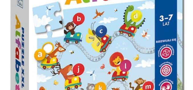 Puzzle XXL Alfabet