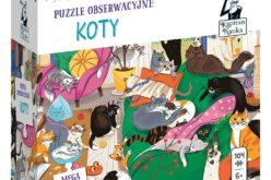 Puzzle obserwacyjne Koty
