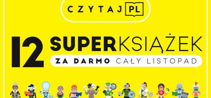 Czytaj PL –12 bestsellerów do pobrania za darmo na urządzenia mobilne