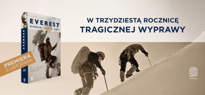 """Mirosław Falco Dąsal, """"Każdemu jego Everest"""" – nowość Wydawnictwa Bezdroża"""