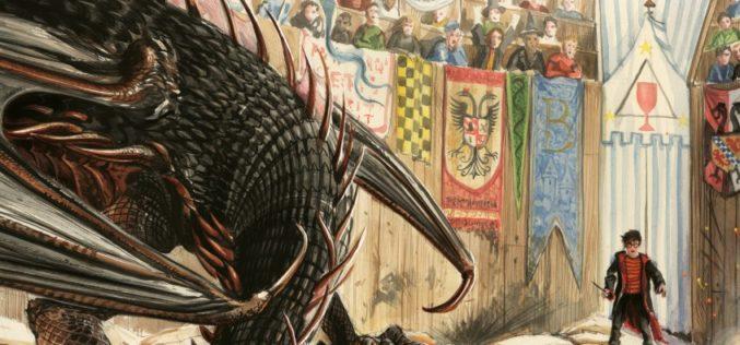 Harry Potter i Czara Ognia – wyd. ilustrowane