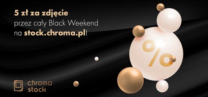 Zdjęcia na piątkę za piątkę – Black Weekend na Chroma Stock