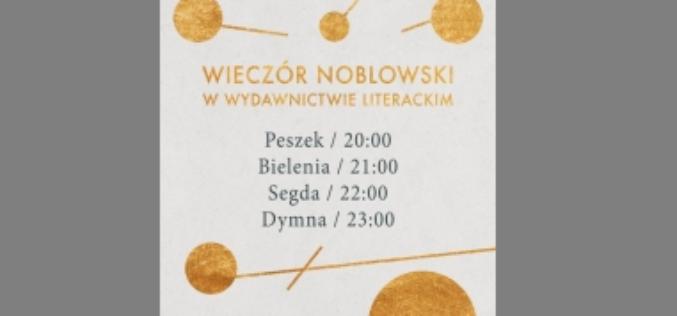 Wieczór noblowski w Wydawnictwie Literackim