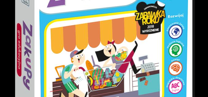 Gra edukacyjna Zakupy – pomysł na prezent dla dziecka