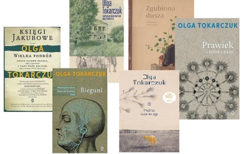 Dwa tysiące książek Olgi Tokarczuk przekazane do stołecznych bibliotek