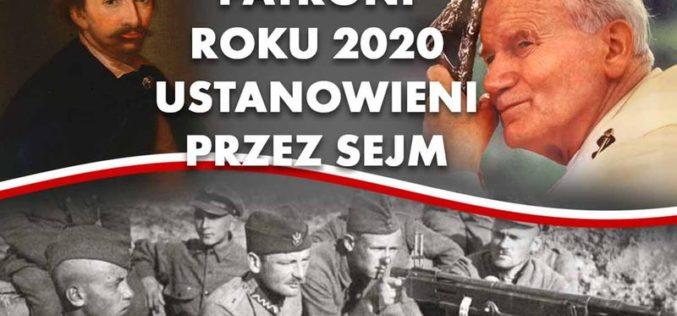 Patroni 2020 roku ustanowieni przez Sejm RP