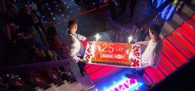 25 lat firmy Agfa w Polsce: okazja do wspomnień i prezentacja planów na przyszłość