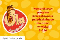 Żyrafa Ola i przyjaciele – kompleksowy program przygotowania przedszkolnego dla dzieci w wieku 3-6 lat