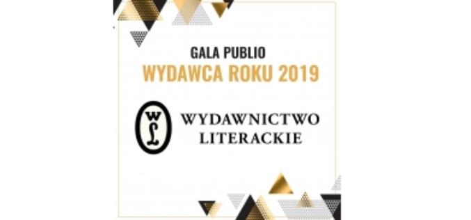 Wydawnictwo Literackie – Wydawcą Roku 2019
