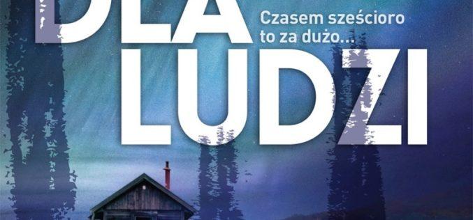 """""""Schronisko dla ludzi"""": thriller psychologiczny Szlęzaka wydany nakładem Liry"""