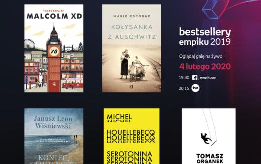 Bestsellery Empiku 2020: NOMINACJE