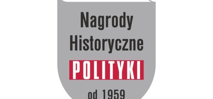 Nagrody Historyczne POLITYKI 2020 – trwa nabór zgłoszeń