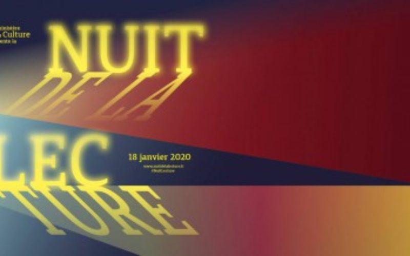 Noc czytania 2020 – Mediateka Instytutu Francuskiego w Polsce serdecznie zaprasza na pierwszą warszawską edycję tej imprezy