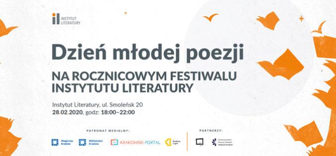 Dzień młodej poezji na festiwalu rocznicowym Instytutu Literatury