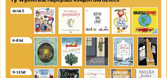 """Znamy nominacje w Konkursie na Najlepszą Książkę Dziecięcą """"Przecinek i Kropka"""" 2019"""