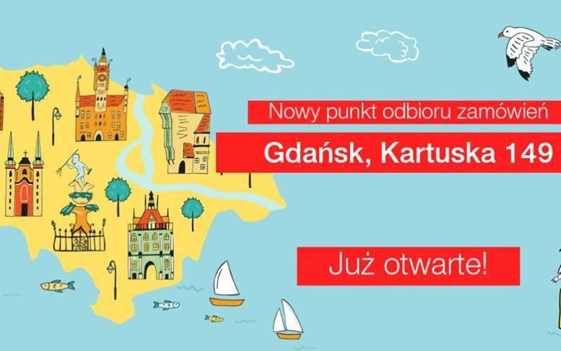 Halo Gdańsk! – nowy punkt odbioru Bonito.pl