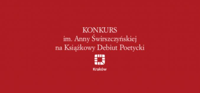 Konkurs im. Anny Świrszczyńskiej, na książkowy debiut poetycki. Zgłoszenia do 30 marca 2020