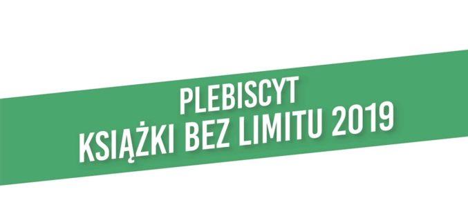 Książki bez limitu 2019 – znamy laureatów plebiscytu