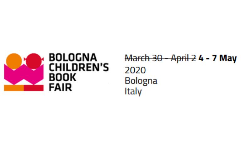 Zmiana terminu Międzynarodowych Targów Książki dla Dzieci Bolonia 2020!