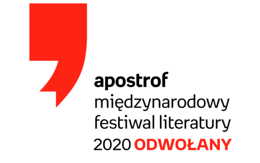 Międzynarodowy Festiwal Literatury Apostrof odwołany