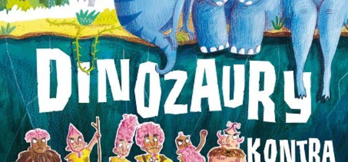 "5 marca nowość od AMBERKA – bestseller ""Dinozaury kontra Ludzie"" Matta Robertsona!"